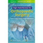 Johns Hopkins High-Yield Review for Orthopaedic Surgery