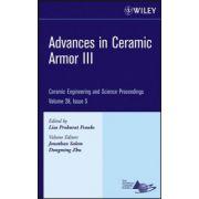 Advances in Ceramic Armor III: Ceramic Engineering and Science Proceedings, Volume 28, Issue 5