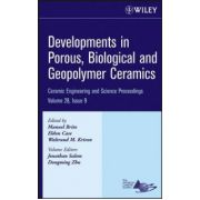 Developments in Porous, Biological and Geopolymer Ceramics, Volume 28, Issue 9
