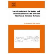 Fractal Analysis of the Binding and Dissociation Kinetics for Different Analytes on Biosensor Surfaces