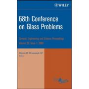 68th Conference on Glass Problems: Ceramic Engineering and Science Proceedings, Volume 29, Issue 1