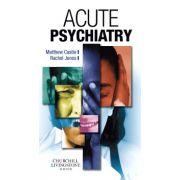Acute Psychiatry