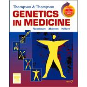 Thompson & Thompson Genetics in Medicine, With STUDENT CONSULT Online Access