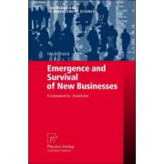Emergence and Survival of New Businesses: Econometric Analyses