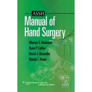 ASSH Manual of Hand Surgery