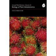 Biology of Plant Metabolomics