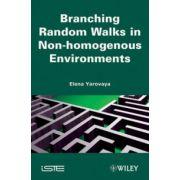 Branching Random Walks in Nonhomogenous Environments