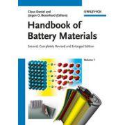 Handbook of Battery Materials, 2-Volume Set