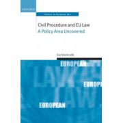 Civil Procedure and EU Law: A Policy Area Uncovered