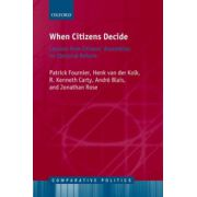 When Citizens Decide. Lessons from Citizen Assemblies on Electoral Reform
