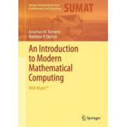 Introduction to Modern Mathematical Computing