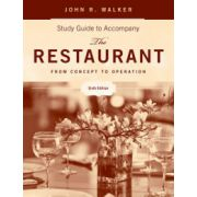 Restaurant: From Concept to Operation, Study Guide