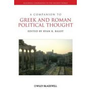 Companion to Greek and Roman Political Thought