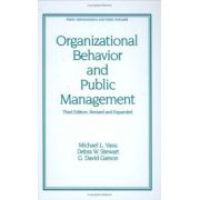 Organizational Behavior and Public Management
