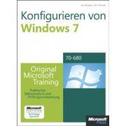 Konfigurieren von Windows 7 MCTS: Original Microsoft Training für MCTS Examen 70-680