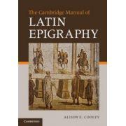 Cambridge Manual of Latin Epigraphy