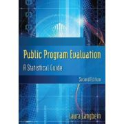 Public Program Evaluation: A Statistical Guide