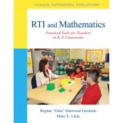 RTI and Mathematics: Practical Tools for Teachers in K-8 Classrooms