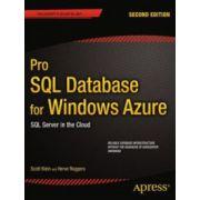 SQL Database for Windows Azure SQL Server in the Cloud