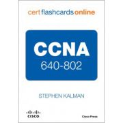 CCNA 640-802 Cert Flash Cards Online, Retail Packaged Version
