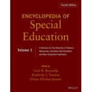 Encyclopedia of Special Education: A Reference for the Education of Children, Adolescents, and Adults Disabilities and Other Exceptional Individuals, 4-Volume Set