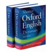 Shorter Oxford English Dictionary (Oxford Dictionaries)