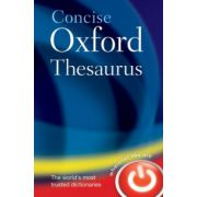Concise Oxford Thesaurus (Oxford Dictionaries)