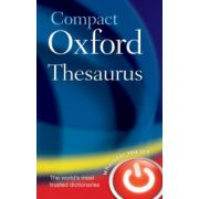 Compact Oxford Thesaurus (Oxford Dictionaries)
