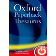 Oxford Paperback Thesaurus (Oxford Dictionaries)