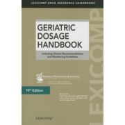 Geriatric Dosage Handbook