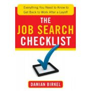 Job Search Checklist: Everything You Need to Know to Get Back to Work After a Layoff