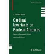 Cardinal Invariants on Boolean Algebras (Progress in Mathematics)