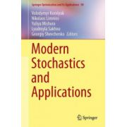 Modern Stochastics and Applications (Springer Optimization and Its Applications)