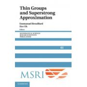 Thin Groups and Superstrong Approximation (Mathematical Sciences Research Institute Publications 61)