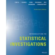 Introduction to Statistical Investigations, Preliminary Edition