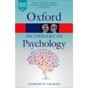 Dictionary of Psychology (Oxford Paperback Reference)