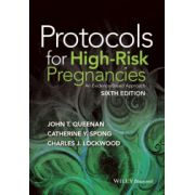 Protocols for High-Risk Pregnancies: An Evidence-Based Approach