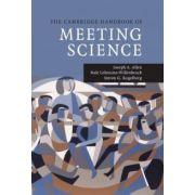 Cambridge Handbook of Meeting Science (Cambridge Handbooks in Psychology)