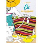 Eté: 100 coloriages anti-stress (Loisirs / Sports/ Passions)