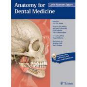 Anatomy for Dental Medicine (Latin Nomenclature)
