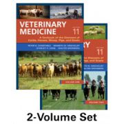Veterinary Medicine: A Textbook of the Diseases of Cattle, Horses, Sheep, Pigs and Goats, 2-Volume Set