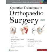 Operative Techniques in Orthopaedic Surgery, 4-Volume Set
