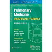 Washington Manual Pulmonary Medicine Subspecialty Consult