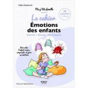 Caietul Emoțiile copiilor - 50 activități pentru a-l ajuta pe copil să înțeleagă mai bine și să gestioneze emoțiile sale (Mica mea familie)