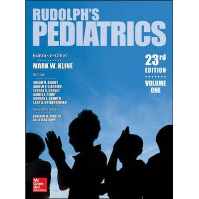 Rudolph's Pediatrics, 2-Volume Set