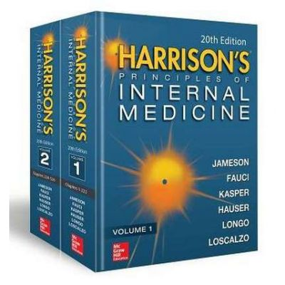 Harrison's Principles of Internal Medicine, 2-Volume Set