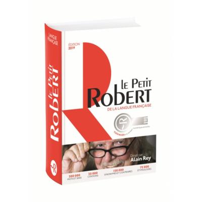 Le Petit Robert de la langue francaise bimédia 2019