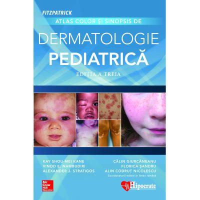 Fitzpatrick Atlas Color şi Sinopsis de Dermatologie Pediatrică